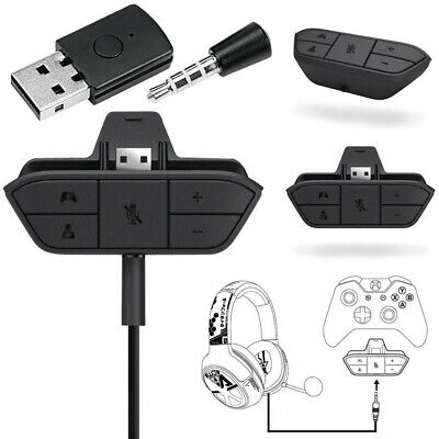 XBOX ONE Audio Game Headphone Adapter Converter / Microphone Bluetooth Receiver