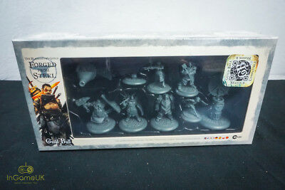 Steamforged Games Guild Ball The Blacksmith's guild Forged From Steel NEW