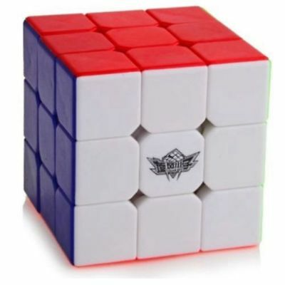 Cyclone Boys Rubic Cube Mini 3x3x3 Speed Cube 5.6cm Stickerless Puzzle Twist Toy