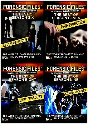 Forensic Files The Best Of Season 6 7 8 9 Collection New 10 Dvd 36 Episodes R4