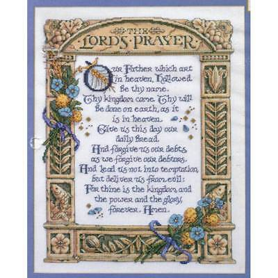 The Lords Prayer - Cross Stitch Chart