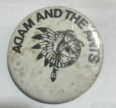 Adam And The Ants Vintage Badge 35mm
