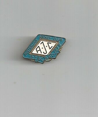 1978-1979 Australian Jockey Club Lady enamel badge NO 5445 Excellent condition