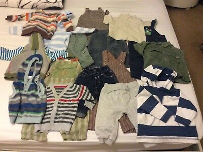 f360d217a HUGE BUNDLE OF Baby Boy Clothes 0-3-6months  690 GEORGE NEXT F  F ...