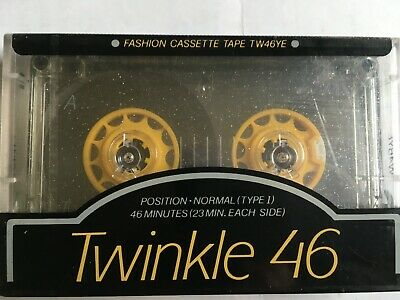Hitachi Twinkle 46 Factory Sealed Audio Cassette Japan