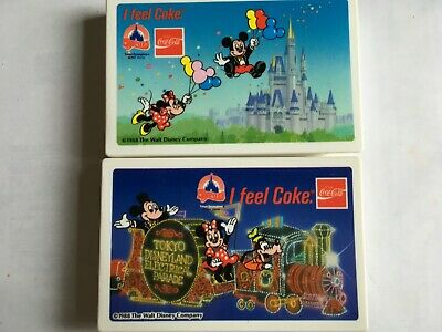 Coca Cola Disney 2 Used Audio Cassette Japan In Perfect Shape