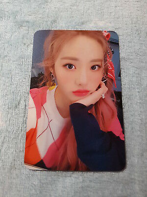 19)fromis_9 Special Single Album From.9 LOVE BOMB Jiwon Type-B Photo Card