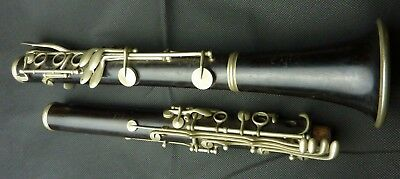 martin thibouville A PARIS key of Bb French Blackwood French Boehm clarinet
