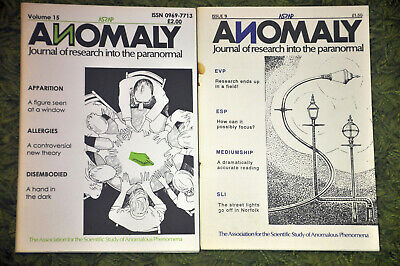 ASSAP Anomaly journal x3 + newsletter Forteana paranormal psychic