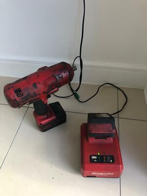 Snap on 1/2 inch 18V cordless electric impact gun and charger