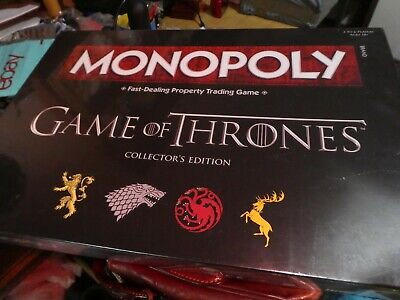 Game of Thrones Collectors Edition Monopoly Board Game , NEW and sealed.