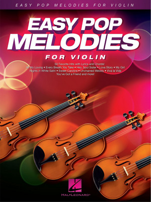 Easy Pop Melodies For Violin PDF