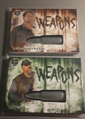 2018 Walking Dead Hunters and The Hunted Weapons Card of Otis