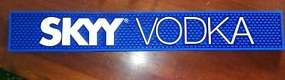 SKYY VODKA Rubber Non-Slip Bar Rail Mat  **BRAND NEW**