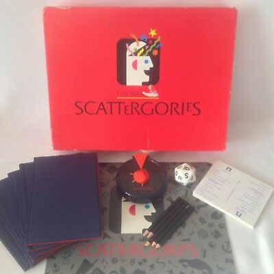 Scattergories board game – MB Games, vintage from 1993 - 6 player buzzer version