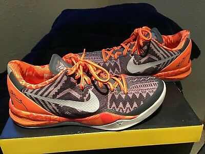 meet c7619 9d6f5 Used Nike Kobe 8 System BHM BLACK HISTORY MONTH Size 10