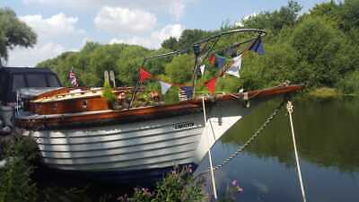 1976, 28ft, one-off, Curtis and Pape, Celtic Cutter yacht, boat, motor cruiser