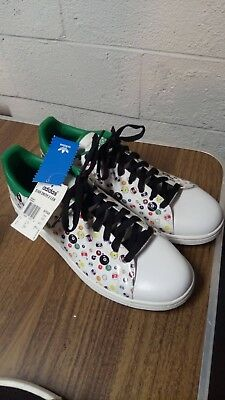 more photos efb74 6b643 Adidas Originals Stan Smith 2 LEA Limited Edition Pool Ball Sneakers-Size 12