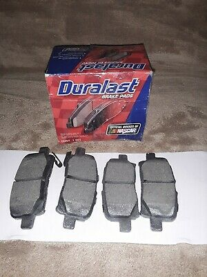 Duralast Brake Pads >> Disc Brake Pad Set Duralast Brake Pad Rear Duralast By