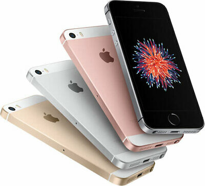 Apple iPhone SE Black Gold Silver Rose Gold 16gb/ 32gb/ 64gb 4G LTE Unlocked