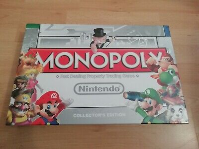 Nintendo Monopoly Board Game Collectors Edition - NEW & SEALED
