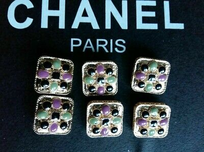 Chanel Buttons Set Of 6 size 25 mm
