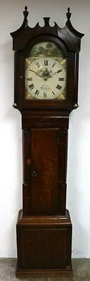 Good English Longcase Clock London Richmond Grandfather Clock & Movement Working