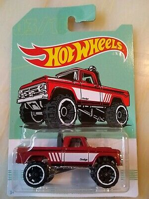 HOT WHEELS 2019 AMERICAN PICKUP SERIES 70 DODGE POWER WAGON Cracked  Blister see