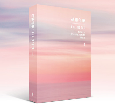 BTS 花樣年華 1 English Ver Book+Special Note with Free Gift