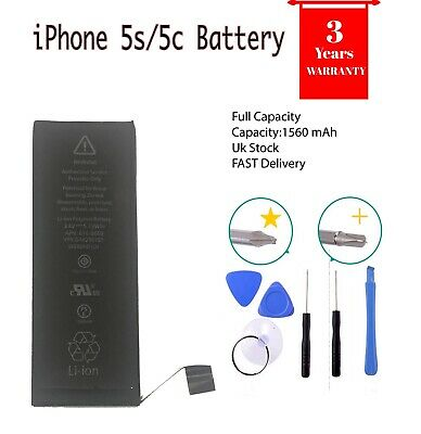 Genuine Original Gmz Replacement Battery for iPhone 5S/5C Full Capacity 1560 mAh