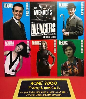 Unstoppable Cards 2018 Xmas Set Avengers Complete Collection PR1 Promo Card