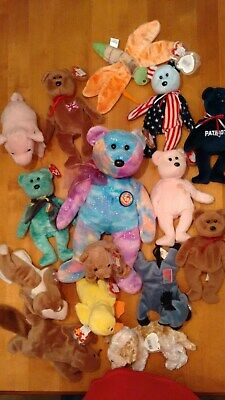 f244173a0b7 Beanie Babies Lot of 15 all w Tags   some ERRORS