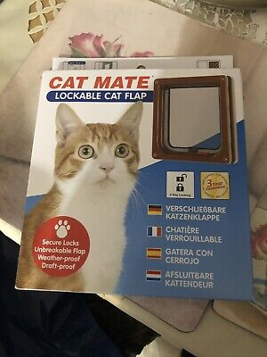 cat mate cat flap - Colour brown