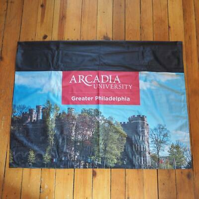"""Arcadia University Tablecloth Covering Tapestry 62""""x47"""""""