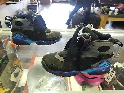 NIKE AIR JORDAN 8 VIII Retro Playoff GS Sneakers 6Y Youth   305368 ... 6fadf00b9