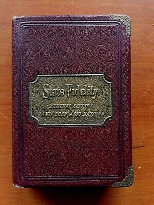 Metal Bank - State Fidelity - Federal Savings and Loan Insurance Co. - vintage