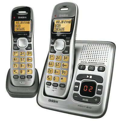 Uniden 2 Handset Cordless Telephone with Answering Machine