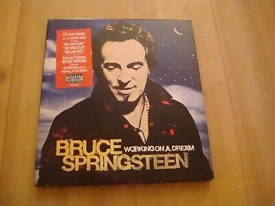 BRUCE SPRINGSTEEN  - WORKING ON A DREAM (CD + DVD) Deluxe Limited Edition (2009)