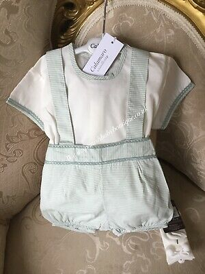 Cheap Sale Beautiful Spanish Summer Romper Aged Up To 6 Months By Calarmaro Outfits & Sets