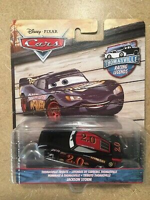 Disney Pixar Cars Thomasville Tribute Racing Legends Jackson Storm Mattel 1:55