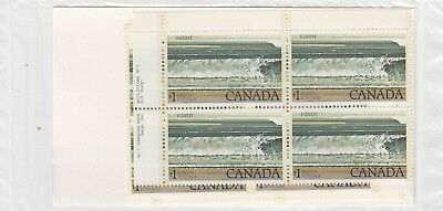 726 Fundy Park Inscription Plate Block Set Of Four   Po Sealed Face $16.00