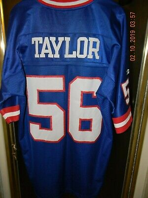 LAWRENCE TAYLOR JERSEY New York Giants Size 52 Mitchell   Ness ... 679b2f1e0