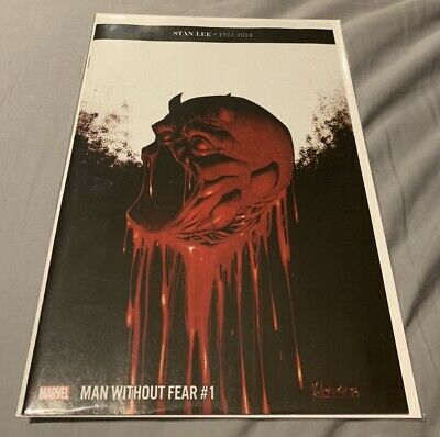 MAN WITHOUT FEAR  #1  Hotz Main Cover  2019 Marvel Comics daredevil death of