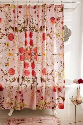 Daniella Floral Shower Curtain By Urban Outfitters