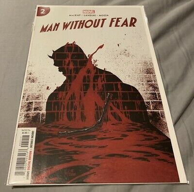 MAN WITHOUT FEAR  #2  Hotz Main Cover  2019 Marvel Comics daredevil death of