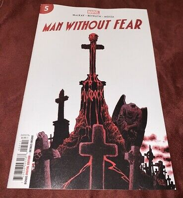 MAN WITHOUT FEAR  #5  Hotz Main Cover  2019 Marvel Comics daredevil death of