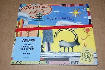 Paul McCartney Egypt Station factory sealed 16-tk CD limited edition concertina