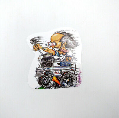 10pcs Random Bicycle Graffiti Vinyl Decal Ed Roth Hot Rods Rat Fink Stickers