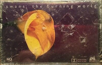 ULTRA RARE Swans - The Burning World Cassette Tape BRAND NEW OLD STOCK