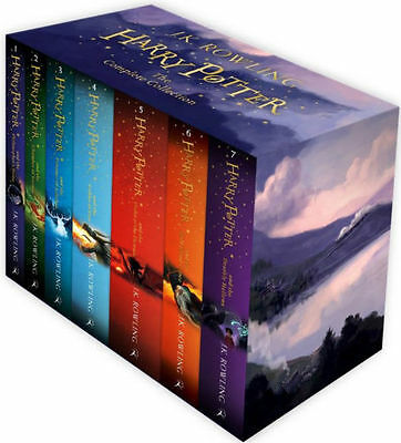 BRAND NEW / The Complete Harry Potter 7 Books Collection Box Set + J. K. Rowling